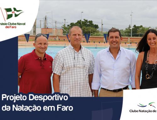 Ginásio Clube Naval de Faro e Clube de Natação de Faro iniciam projeto desportivo conjunto