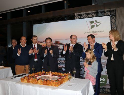 Ginásio Clube Naval de Faro comemorou o seu 91ª aniversário, num jantar com casa cheia