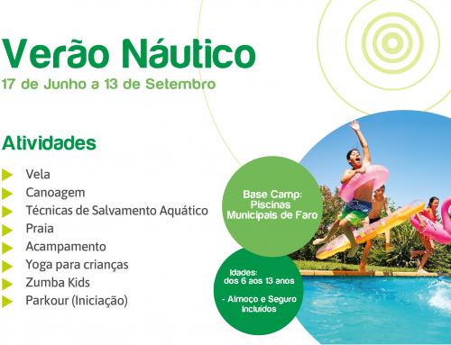 Verão Náutico 2019 – Inscrições Abertas