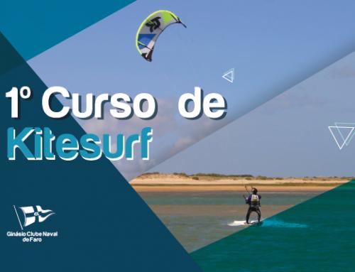 1º Curso de Kitesurf do Ginásio Clube Naval de Faro