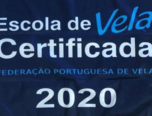 Escola de Vela certificada pela Federação Portuguesa de Vela