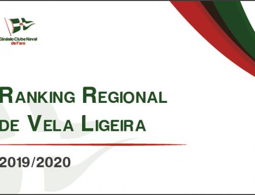 Rankings Regionais de Vela Ligeira 2019/2020