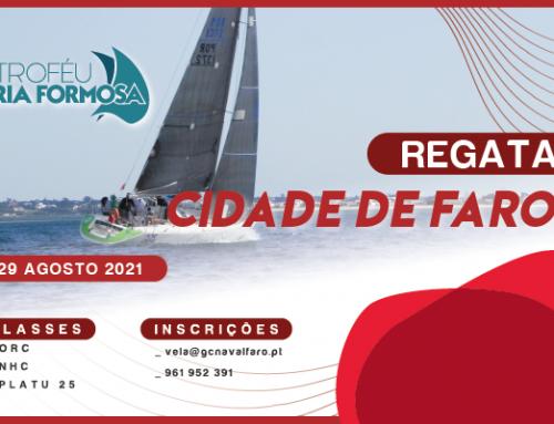 O TRF 2020/2021 termina com a regata Cidade de Faro a 29 de Agosto!